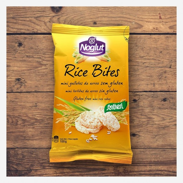 Tortitas de Arroz Integral Mini Rice Bites