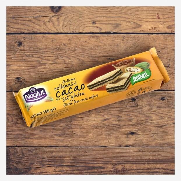 Galletas Rellenas de Cacao