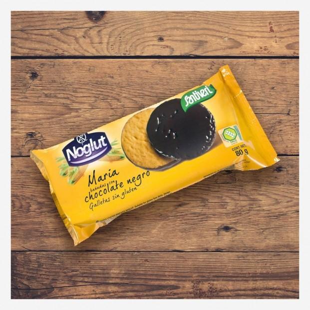 Galletas María Bañadas en Chocolate Negro