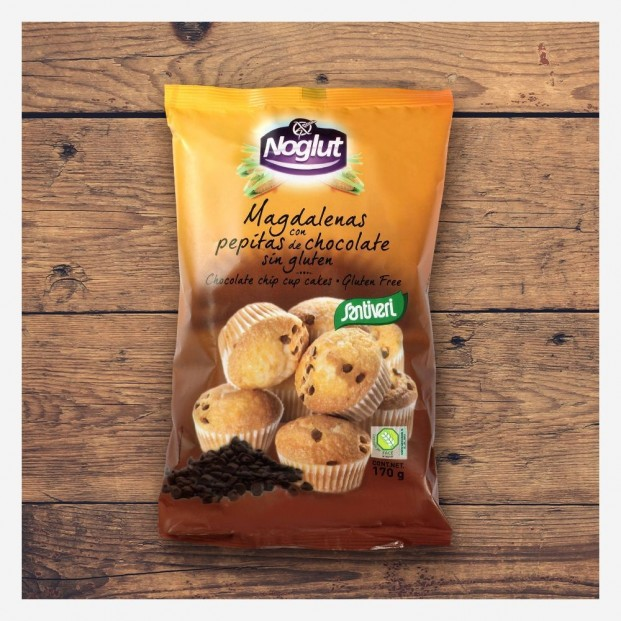 Magdalenas con Pepitas de Chocolate