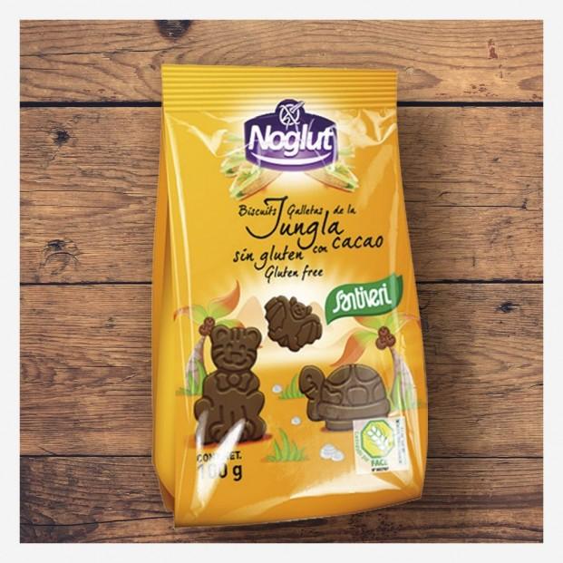 Galletas Jungla con Cacao