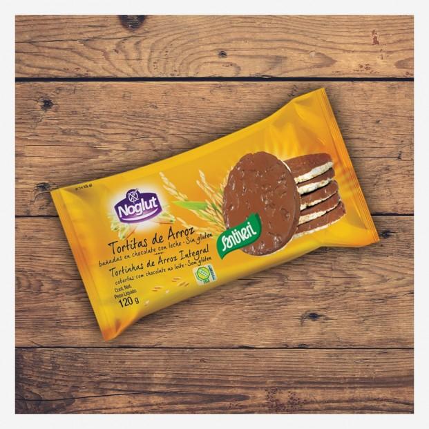 Tortitas Arroz Choco Leche 8 unidades